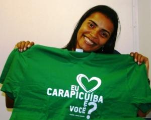 Vereadora Gilmara idealizadora da Campanha de Incentivo à Cidadania